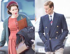 b16d55c2d2 Claire Foy   Matt Smith film The Crown season 2