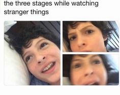 stranger things memes Thin Hair Cuts hair cutting techniques for thin hair Watch Stranger Things, Stranger Things Aesthetic, Stranger Things Memes, Stranger Things Have Happened, Geeks, Saints Memes, Harry Potter, Stranger Danger, Fandoms