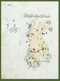 leo - a transcript of Abd al-Rahman al-Sufi's Book of Fixed Stars/Kitab suwar al-kawakib al-thabita by Ulugh Beg, Samarkand 1436