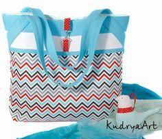"Мастер-класс по сумке ""Зигзаг"" ~ KudryaArt. Авторские сумки и рюкзаки."