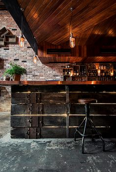 Donny's, one of Sydney's coolest bar interiors (via NEST OF PEARLS)
