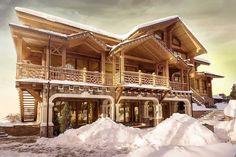 Beautiful house made of wood