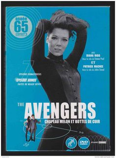 The Avengers 1965... Emma Peel