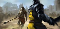 """Oberyn Martell and Gregor Clegane by zippo514. """"You are going to fight that?"""" """"I am going to kill that."""""""
