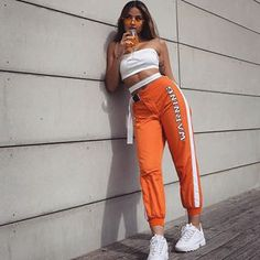 Best Baddie Outfits Part 8 Sporty Outfits, Mode Outfits, Trendy Outfits, Summer Outfits, Hip Hop Outfits, Fashion Killa, Look Fashion, Teen Fashion, Fashion Outfits