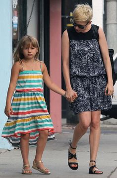 Matilda Rose Ledger - daughter of Michelle Williams and the late Heath Ledger - born 10/28/2005 in New York