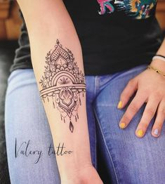 , – tattoos for women small Ankle Tattoos For Women Mandala, Mandala Tattoo Sleeve Women, Sleeve Tattoos For Women, Armband Tattoo Design, Mandala Tattoo Design, Henna Tattoo Designs, Half Mandala Tattoo, Lotus Mandala, Piercing Tattoo