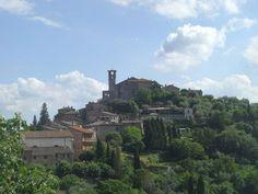Agello, where my parents own an old peasant farmhouse.