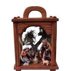 These beautiful Christmas Nativity Lanterns are hand crafted from high quality massive wood. Carefully handpainted with oil paints by our skilled craftsmen. Some designs are hand gilded with real gold. They will brighten up your home during this magical time of the year. Premium quality Collectible Nativity Sets. #nativity #christmasnativity #nativityset #nativitylantern #religiousgifts #catholicgifts Nativity Sets, Christmas Nativity Scene, Catholic Gifts, Religious Gifts, Wooden Lanterns, Christmas Lanterns, Beautiful Christmas, Wood Art, Craftsman