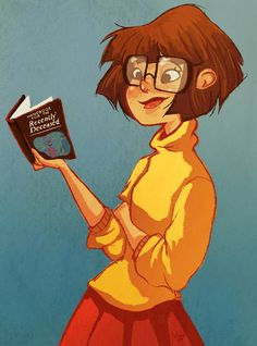 Velma, an art print by Megan Fisher Cartoon Kunst, Cartoon Art, Cartoon Characters, Futurama, Samurai Jack, Fan Art, Velma Scooby Doo, Scooby Doo Mystery Incorporated, Daphne And Velma