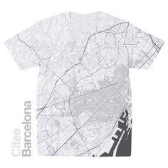 Citee Fashion: City maps printed on t-shirts by Alex Szabo-Haslam — Kickstarter