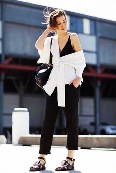 Spring Layering Made Easy: Try These 7 Formulas via @WhoWhatWear