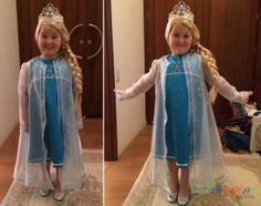 A very happy Snow Queen her new Frozen inspired costume.  For more information about our costumes please contact us at sales@imagineforkids.com.au or look at our Facebook page www.fb.com/imagine4kids Snow Queen, Custom Made, This Is Us, Frozen, Costumes, Facebook, Inspired, Happy, Kids