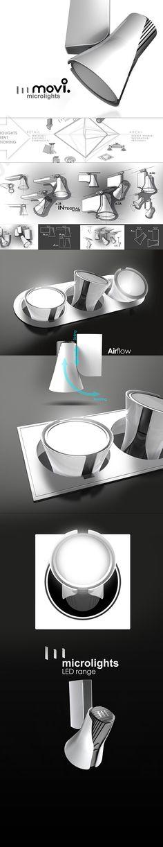 MICROLIGHTS LED Spotlight design and creation of the full range