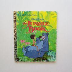 Disney's The Jungle Book Little Golden by MyForgottenTreasures, $3.50
