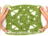 BabyDROPS 13-20 - Crochet DROPS blanket in 2 threads of Alpaca - Free pattern by DROPS Design