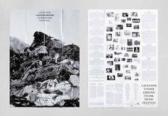 Demian Conrad Design: Luff 13 - Thisispaper Magazine