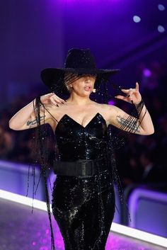 Lady Gaga Spotted at the 2016 Victoria's Secret Fashion Show Wearing a $1 Million Hat http://www.ipresstv.com/2016/12/lady-gaga-spotted-at-2016-victorias.html  #ladygaga