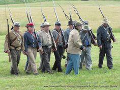 https://flic.kr/p/tCr5vB | US Civil War - North v South, Yorktown, VA 2015 | US Civil War - North v South, Yorktown, VA 2015