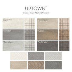 Emser Tile Uptown x Porcelain Field Tile Exterior Colors, Interior And Exterior, Interior Design, Living Room Color Combination, Best Paint Colors, Tiles Online, Color Pallets, Building Materials, Room Colors