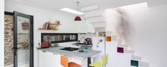 The House Between - Clément Bacle Architect - France - Rennes - Kitchen - Humble Homes