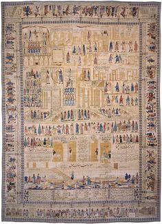 Antique Kerman Persian Rug 3206 http://nazmiyalantiquerugs.com/antique-rugs/aboul-ghasem-kermani/antique-kerman-persian-rug-3206/