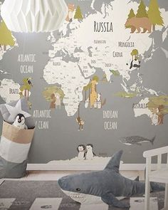 LH – Animals World Map III Room