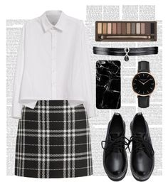 """""""Private"""" by zidith ❤ liked on Polyvore featuring J.Crew, Y's by Yohji Yamamoto, Urban Decay, Topshop and Fallon"""