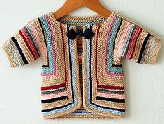 Ravelry: AliciaPaulson's Baby Surprise Jacket
