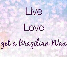 We love brazilian waxing! Ive got one before and I love the end results just hate the pain Brazilian Wax Pictures, Bare Beauty, Bliss Beauty, Wax Studio, Becoming An Esthetician, Esthetician Room, Salon Quotes, Body Waxing, Wax Hair Removal