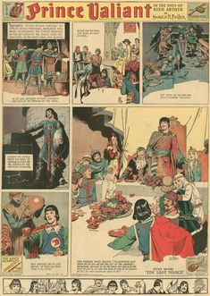 Prince Valiant by Hal Foster