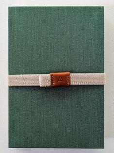 Japanese Postcard Album/Notebook - Zenbu Home Japanese Notebook, Postcard Album, Postcard Display, Alpine Green, Digital Journal, Ink Stamps, Japanese Design, Book Binding, Fabric Covered
