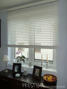 Żaluzje Białe. Montaż do ściany. Prestige - Żaluzje Idealnie Dopasowane Duży wybór kolorów: http://allegro.pl/zaluzje-drewniane-i-bambusowe-duzy-wybor-kolorow-i6160804504.html
