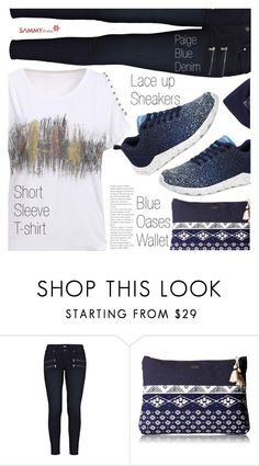 """Running, running...."" by vanjazivadinovic ❤ liked on Polyvore featuring Paige Denim, Roxy, sammydress, polyvoreeditorial and Poyvore"