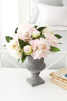 how to arrange silk flowers; and where to get them!