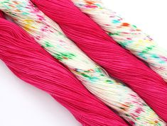 Stitch Mischief - Hand dyed yarn, project bags and all the colors! Hand Dyed Yarn, All The Colors, Friendship Bracelets, Stitch, Hair Styles, Projects, Hair Plait Styles, Log Projects, Full Stop