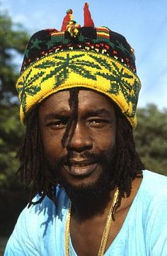 Peter Tosh. An original Wailer, killed because he stood up for Rastafarians in Jamaica. Fearless.