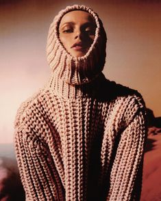 """Vogue Paris on Instagram: """"@RiannevanRompaey gives us cocooning weekend vibes in the October issue of Vogue Paris, available now via the link in our bio Shot…"""" Wooly Bully, Weekend Vibes, Vogue Paris, Sweater Weather, Turtle Neck, Photo And Video, My Style, Sweaters, October"""