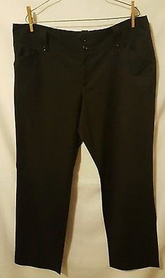 HUGE STOREWIDE CYBER MONDAY SALE!  Women's Black Pin Striped Stretch Dress Pants Size 16 Career Slacks | eBay, Christmas Shopping