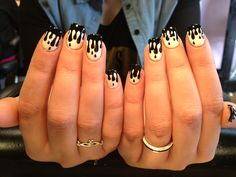 melted nails <3