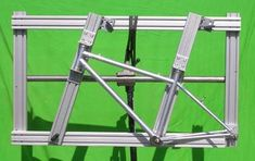 Picture of The simplest bicycle framebuilding jig I could come up with...