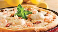 Découvrez le secret de la recette traditionnelle italienne. Pizza Recipes, Cooking Recipes, Pizza Buns, I Want Pizza, Pizza Wraps, Seafood Pizza, Pizza Cake, Pizza Pizza, Calamari