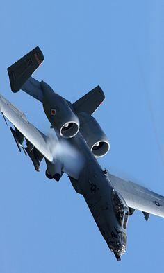 "eyestothe-skies: "" A-10 Warthog """