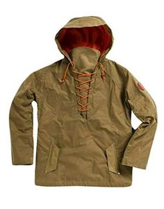 Alps & Meters Alpine Anorak Pullover - Men's - stuff for me - Rugged Style, Rugged Men, Man Style, Big Men Fashion, Best Mens Fashion, Fashion Tips, Fashion Ideas, Fashion Shirts, Women's Fashion