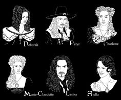 The Mayfair Witches by ~ereszkigal  sc 1 st  Pinterest & Stella Mayfair from the Witching Hour by Anne Rice. | Worlds of ...