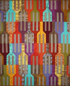 """""""Forks"""" pattern by Aardvark Quilts  possible pattern to make???"""