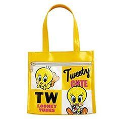 [] Tweety Bird Tweety Cooler Bag Lunch CM Kamio Japan 16945 (japan import) null