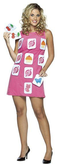 Funny Costumes - This funny Adult Memory Game Costume Dress includes the pink sheath dress and 12 matching game cards. Perfect for your next costume party! Game Of Thrones Costumes, Game Costumes, Funny Costumes, Cool Costumes, Adult Costumes, Costumes For Women, Party Costumes, Halloween Kostüm, Diy Halloween Costumes