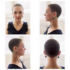 Short Buzz Cut, Super Short Pixie, Short Hair Cuts, Short Hair Styles, Short Bob Haircuts, Cool Haircuts, Short Hairstyles For Women, Girl Hairstyles, Hair Dye Colors