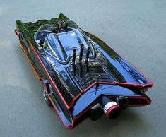 Mattel Hot Wheels 1:18 1966 DC Comics Batmobile TV Show Special Edition diecast car